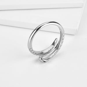 Silver Snake Ring - Bizoux Sterling