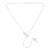 925 Sterling Silver Infinity Cross Necklace