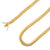 925 Sterling Silver 7mm Miami Cuban Link Gold Plated Chain