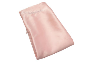 bounced. mulberry silk pillowcase - pink