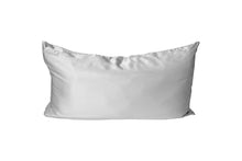 Load image into Gallery viewer, bounced. mulberry silk pillowcase - silver