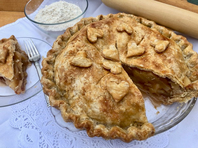 Spiced Apple Pie in Metropolitan Market All-Butter Pie Crust