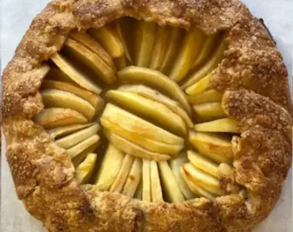 Brandied Apple Galette
