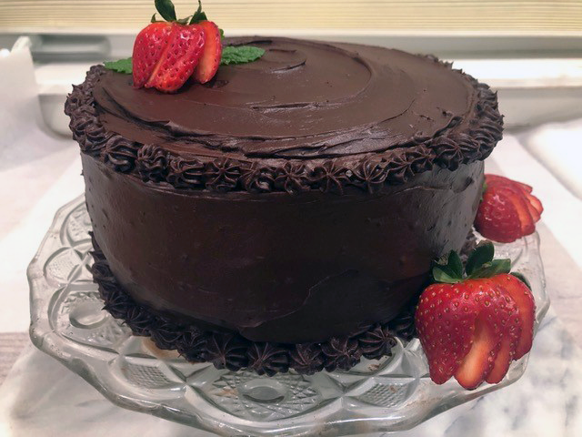 Magical Double Chocolate Cake