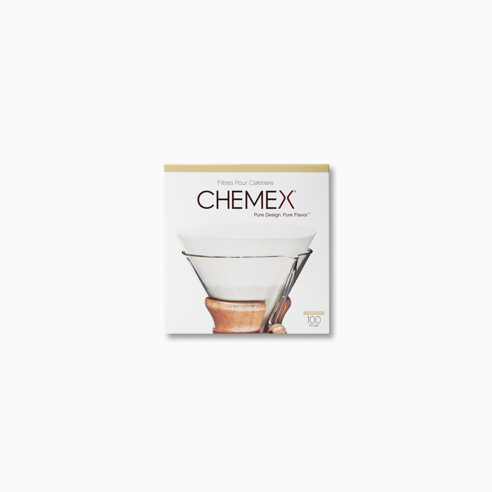 Chemex 6-8 Cup Filter Papers (pre-folded)