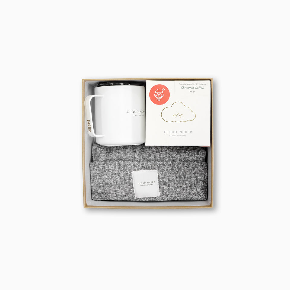 CHRISTMAS Beansie Gift Pack with Camp Cup