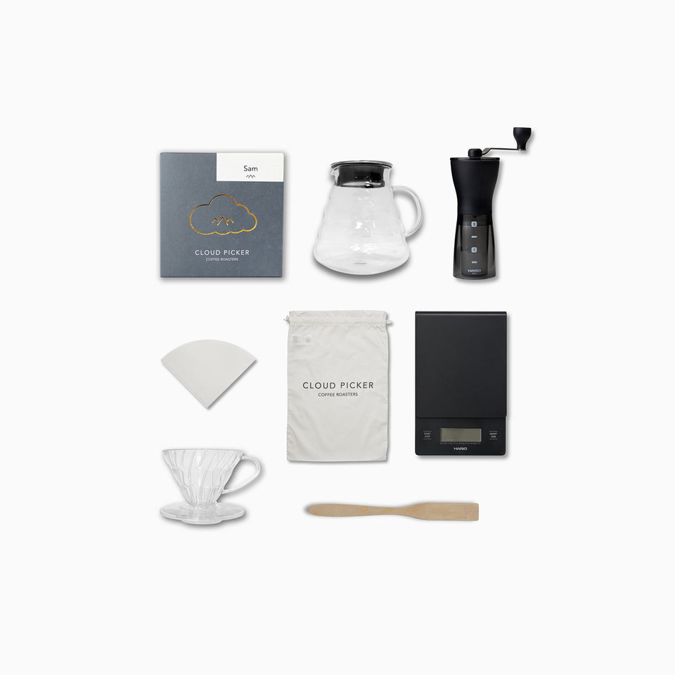 CHRISTMAS Home Brew V60 Coffee Pack