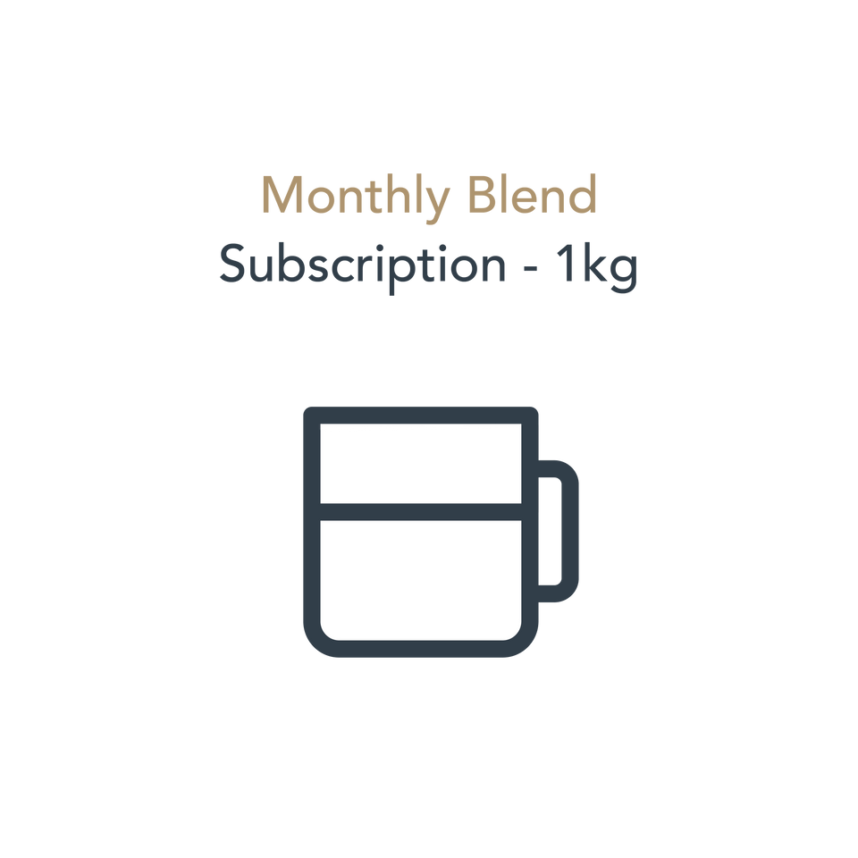 Monthly Blend Subscription (1kg)