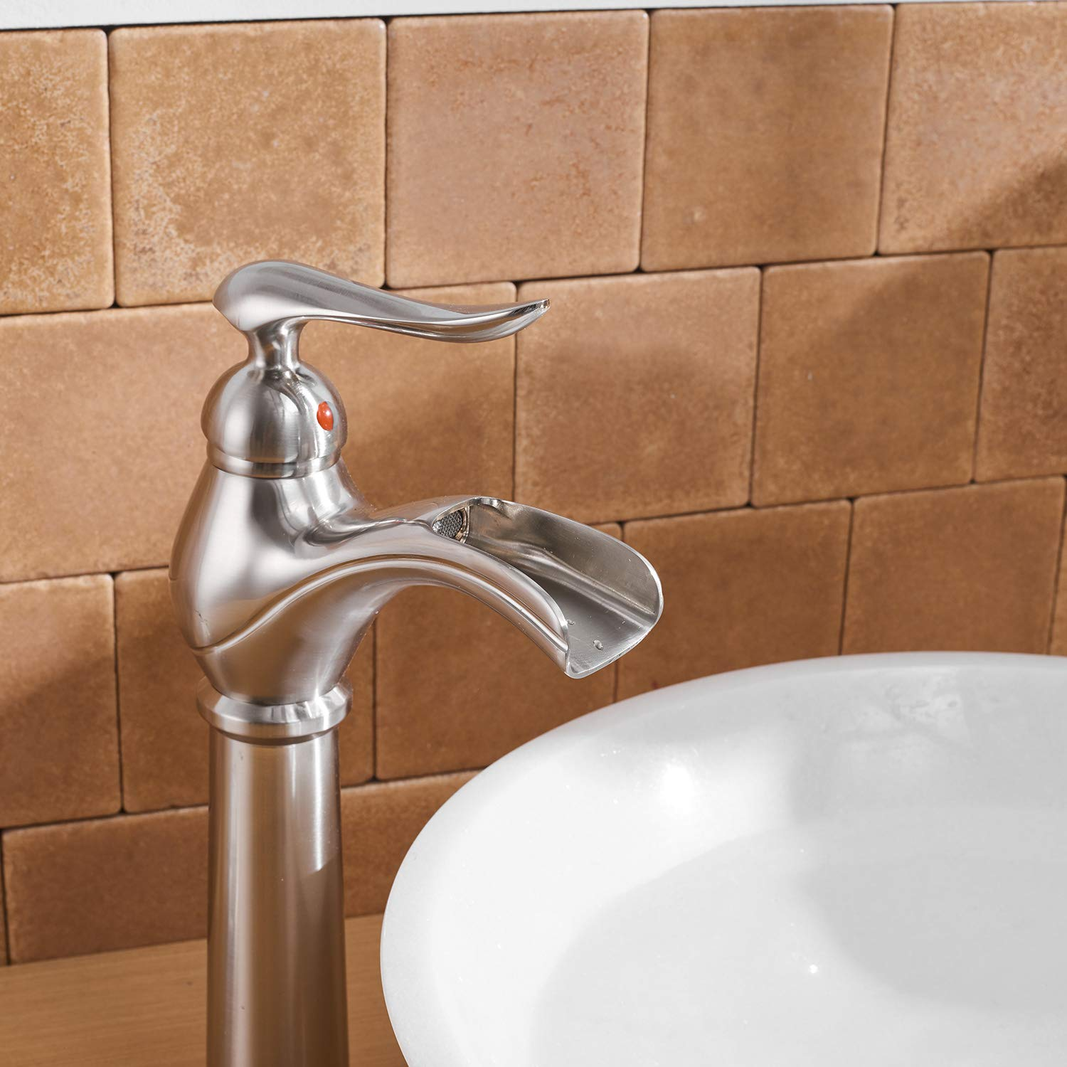 BWE A-96559 Single Handle Bathroom Faucet (Tall/Short)