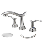 BWE A-916431 Dual Handle Bathroom faucet (Full Kit)