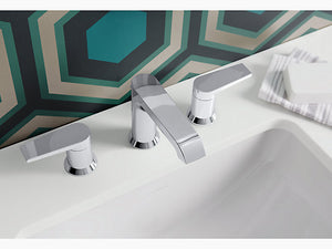 Hint™ Widespread bathroom sink faucet