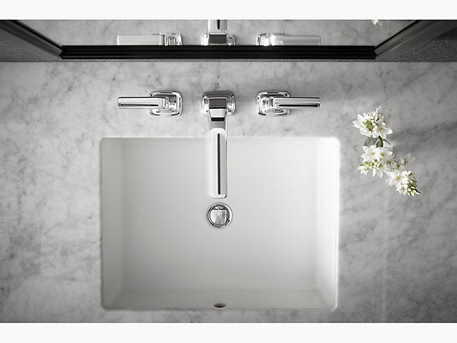 Verticyl® Rectangle Under-mount bathroom sink