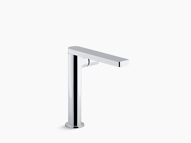 Composed® TallSingle-handle bathroom sink faucet with pure handle