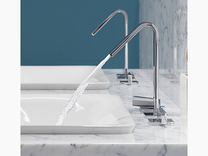 Loure® Widespread bathroom sink faucet