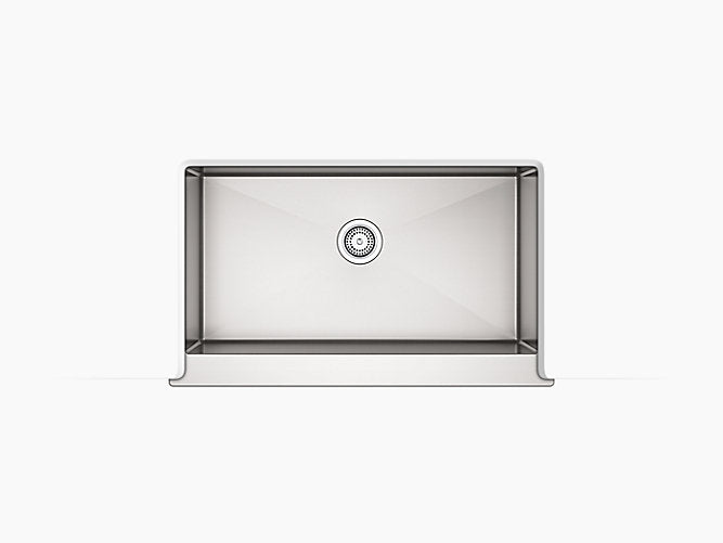 "Strive®35-1/2"" x 21-1/4"" x 9-5/16"" Undermount single-bowl farmhouse kitchen sink"