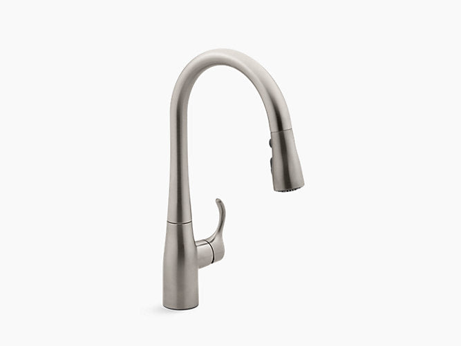 "Simplice®Kitchen sink faucet with 15-3/8"" pull-down spout"