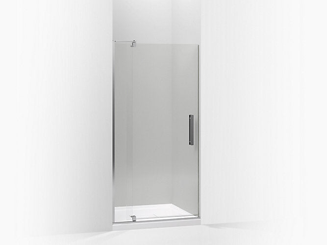 "Revel® 70""H x( 31-1/8 - 36"" W) with 5/16"" thick Premium Crystal Clear glass Pivot shower door"