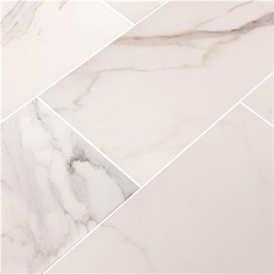 MSI Adella Calacatta 12 in. x 24 in. Matte Ceramic Wall Tile (14 sq. ft. / case)