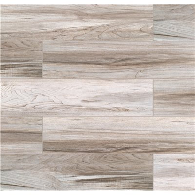 MSI Carolina Timber Grey 6 in. x 24 in. Matte Ceramic Floor and Wall Tile (16 sq. ft. / case)