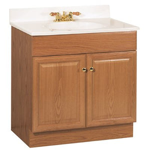 RSI 30 in. L  x 31 in. T x 18 in. D Richmond Bathroom Vanity Cabinet with Top with 2-Door