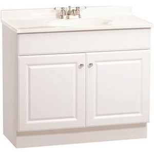RSI (36 in. L x 31 in. T x 18 in. D) Richmond Bathroom Vanity Cabinet with Top with 2-Door