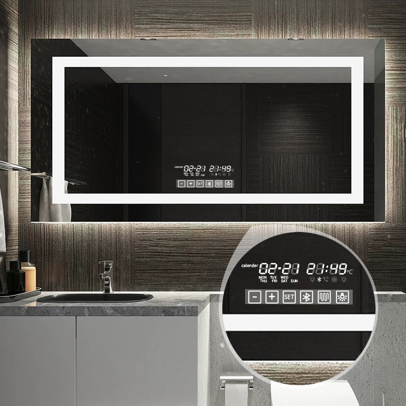 GISHA Led Smart Bathroom Mirror Inner Light band (Wide / Extra Wide)