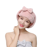 Super absorbent head towels