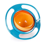 Non-Spill Gyro Toddler Bowl with lid
