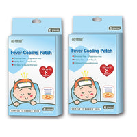 Fever Cooling Gel Patches (Pack of 6)