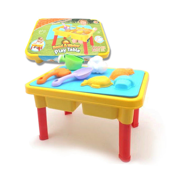 Summer Beach Sand & Water Play Table