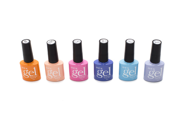 UV Gel Nail Polish Pastel Colour Kit