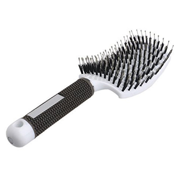 The Ultimate Curved & Vented Detangling Hair Brush!