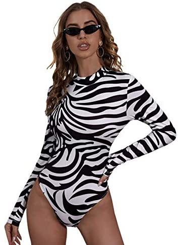 Fitted Print body suit