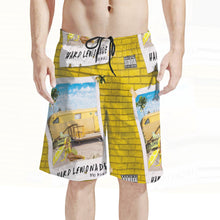 Load image into Gallery viewer, Men's Hard Lemonade Board Shorts