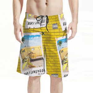 Men's Hard Lemonade Board Shorts
