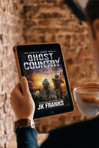 Image of Ghost Country   Catalyst Book 4