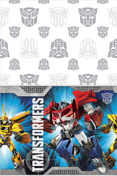Transformers (tm) Plastic Table Cover