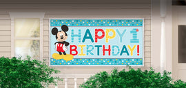 Disney Mickey's Fun To Be One  Horizontal Giant Sign Banner