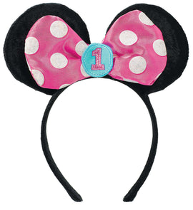 Disney Minnie's Fun To Be One Novelty Headband