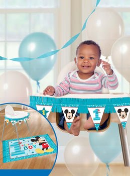Disney Mickey's Fun To Be One  High Chair Decorating Kit