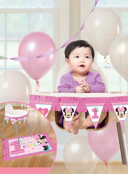 Disney Minnie's Fun To Be One High Chair Decorating Kit