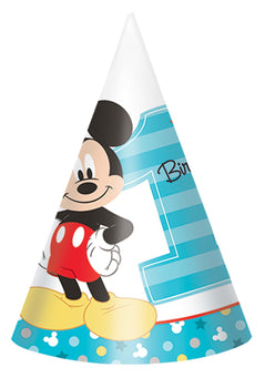 Disney Mickey's Fun To Be One  Paper Cone Hats