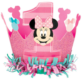 Disney Minnie's Fun To Be One Glitter Crown