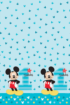 Disney Mickey's Fun To Be One  Plastic Table Cover