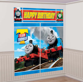 Thomas All Aboard Scene Setter Wall Decorating Kit