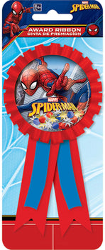 Spider-Man (tm) Webbed Wonder Confetti Pouch Award Ribbon