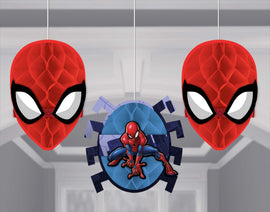 Spider-Man (tm) Webbed Wonder Honeycomb Decorations