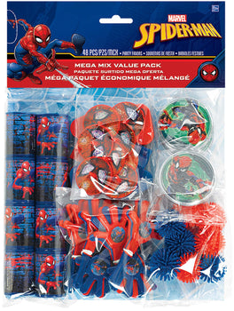 Spider-Man (tm) Webbed Wonder Mega Mix Value Pack