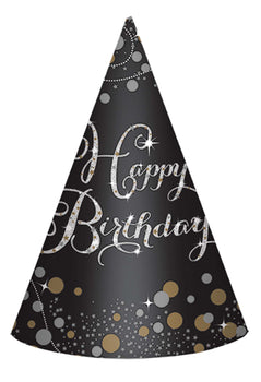 Sparkling Celebration Paper Cone Hats