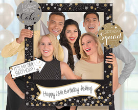 Sparkling Celebration Customizable Giant Photo Frame